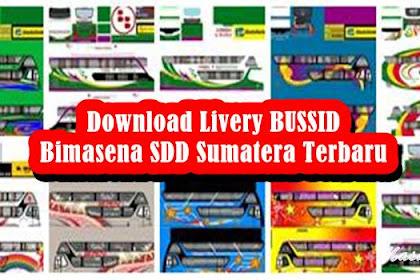Download Livery BUSSID Bimasena SDD Sumatera Terbaru V3.5