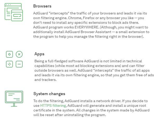 Definitions of AdGuard AdBlocker Premium APK