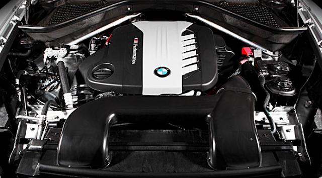 2017 BMW X6 Engine