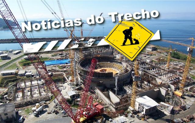 Resultado de imagem para geração nuclear obras brasil