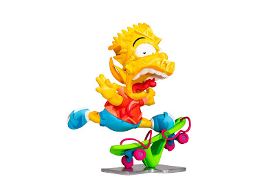 "ComplexCon 2018 Exclusive The Simpsons ""Elevate"" Vinyl Sculpture by Louis De Guzman"