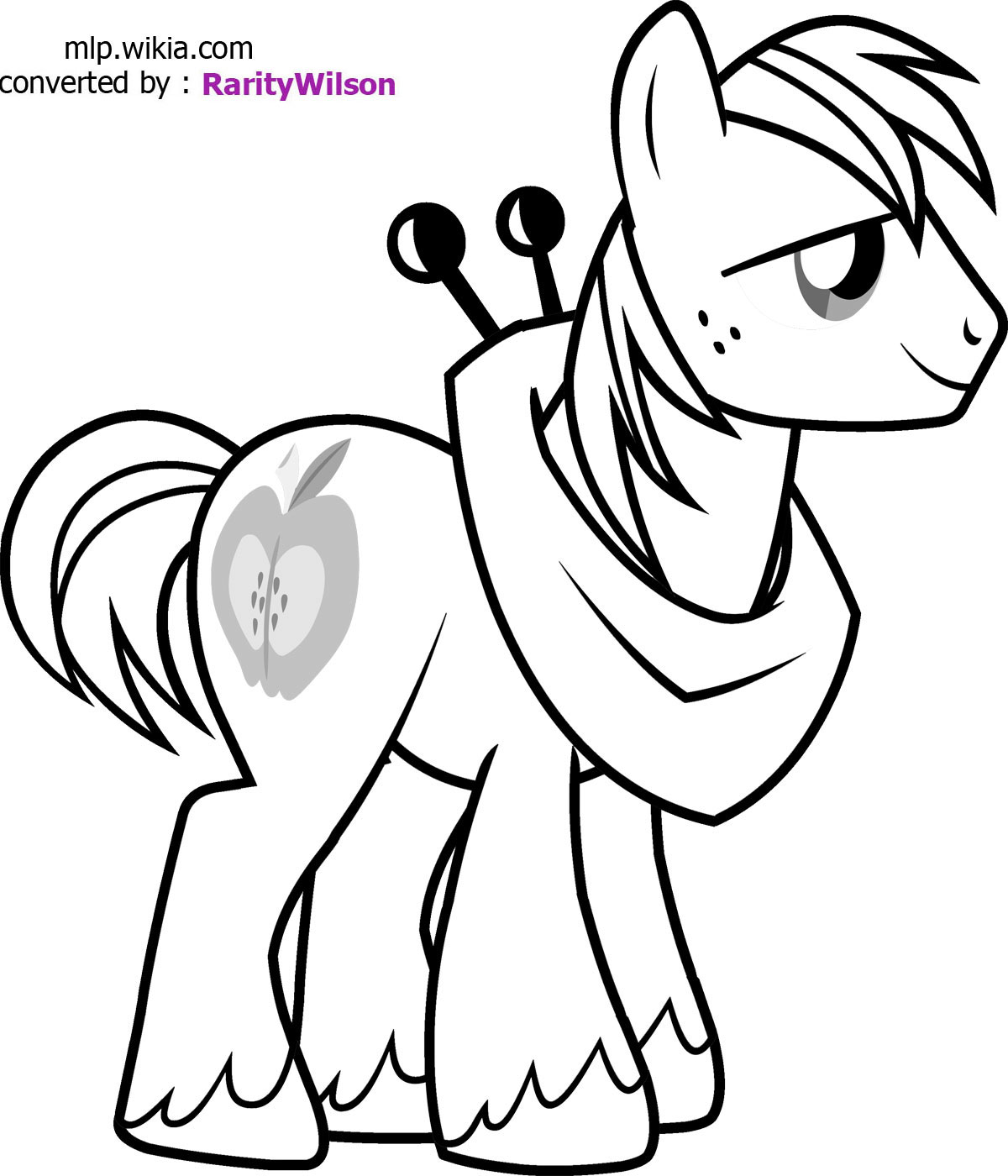 my little ponys coloring pages - photo #47