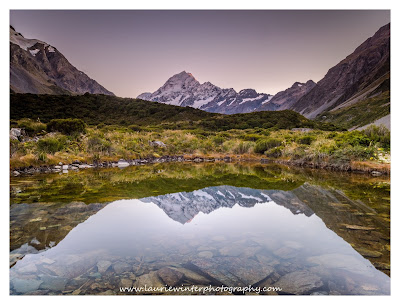 Aoraki, Hooker Valley, Mt Cook, Sunrise