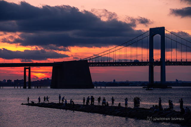 Throgs Neck Bridge at Little Bay Park