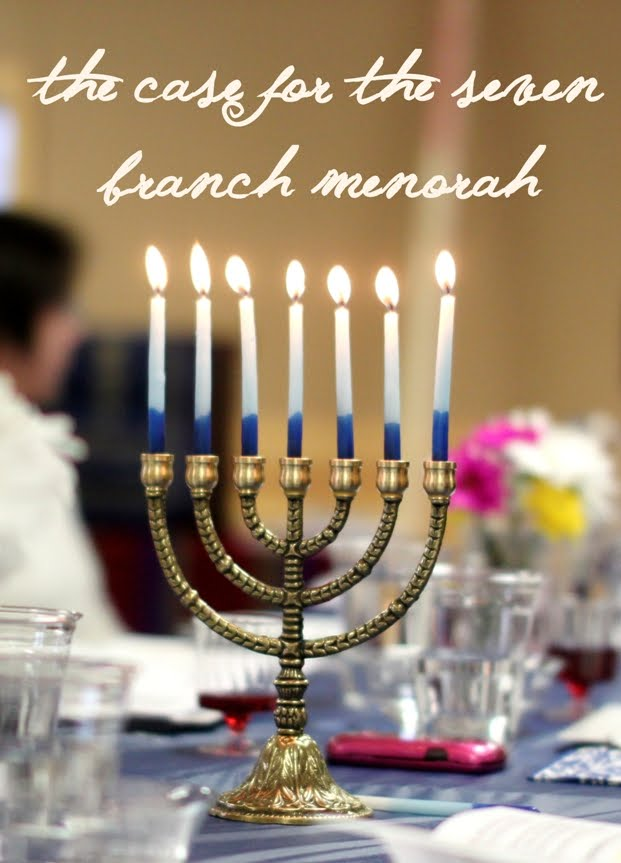 Menorahs: Seven or Nine Branch?