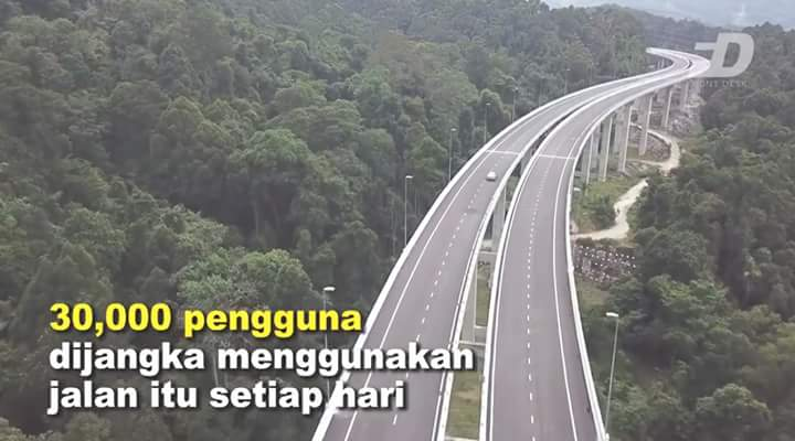 Rawang Bypass Dibuka Untuk Laluan Umum