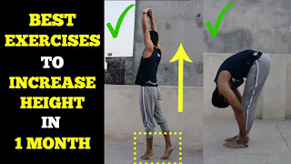 best five quick height growth exercises at home