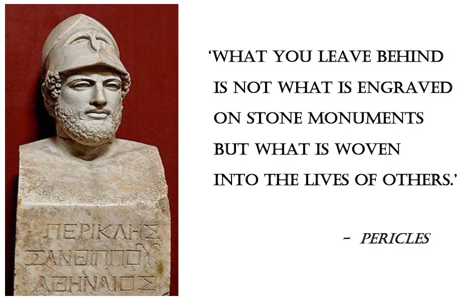 relationship between pericles and phidias quotes