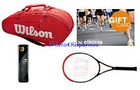 Logo Powerade ''Allena il tuo colpo vincente'' : in palio buoni spesa Cisalfa e set professionale Wilson
