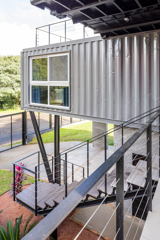 Casa Conteiner RD - 350 sqm Two Story Shipping Container Home, Brazil 23