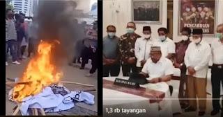 Gubernur Maluku Minta Aparat Ungkap Aktor Inteleketual Demo Yang Membakar Baliho HRS