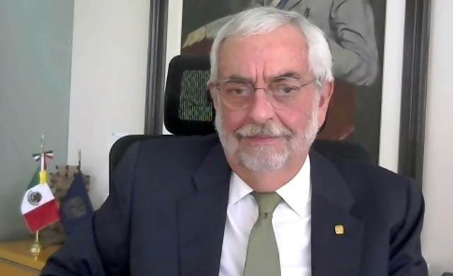 En materia de derechos humanos, ni pausas ni flaquezas: Enrique Graue Wiechers