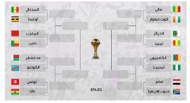 الدور الـ16 من بطولة كأس الأمم الأفريقية 2019
