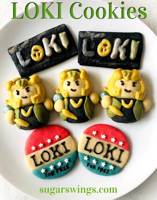 Marvel's Loki Cookies