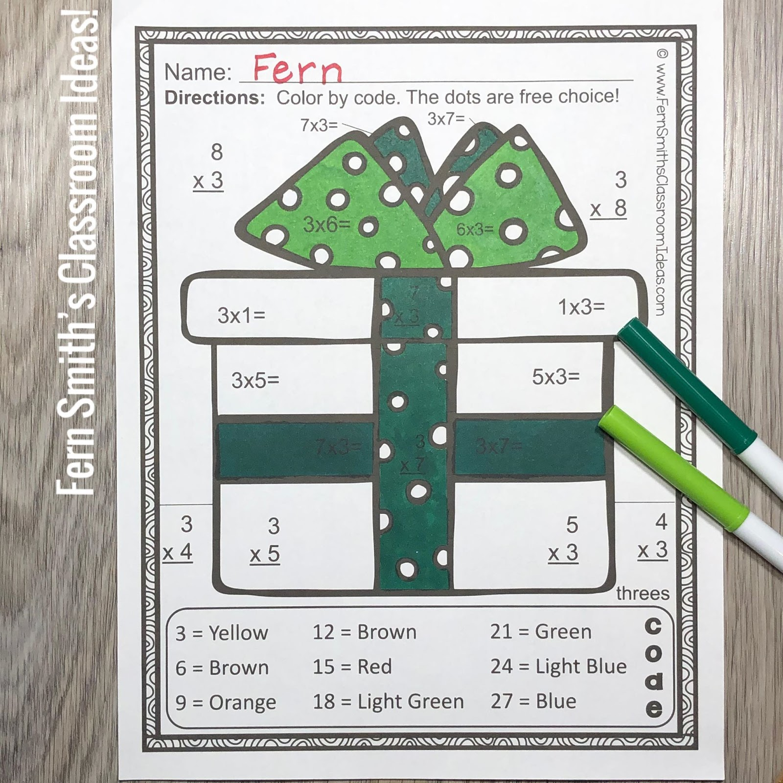 Can You Use Some Multiplication Color By Number For These