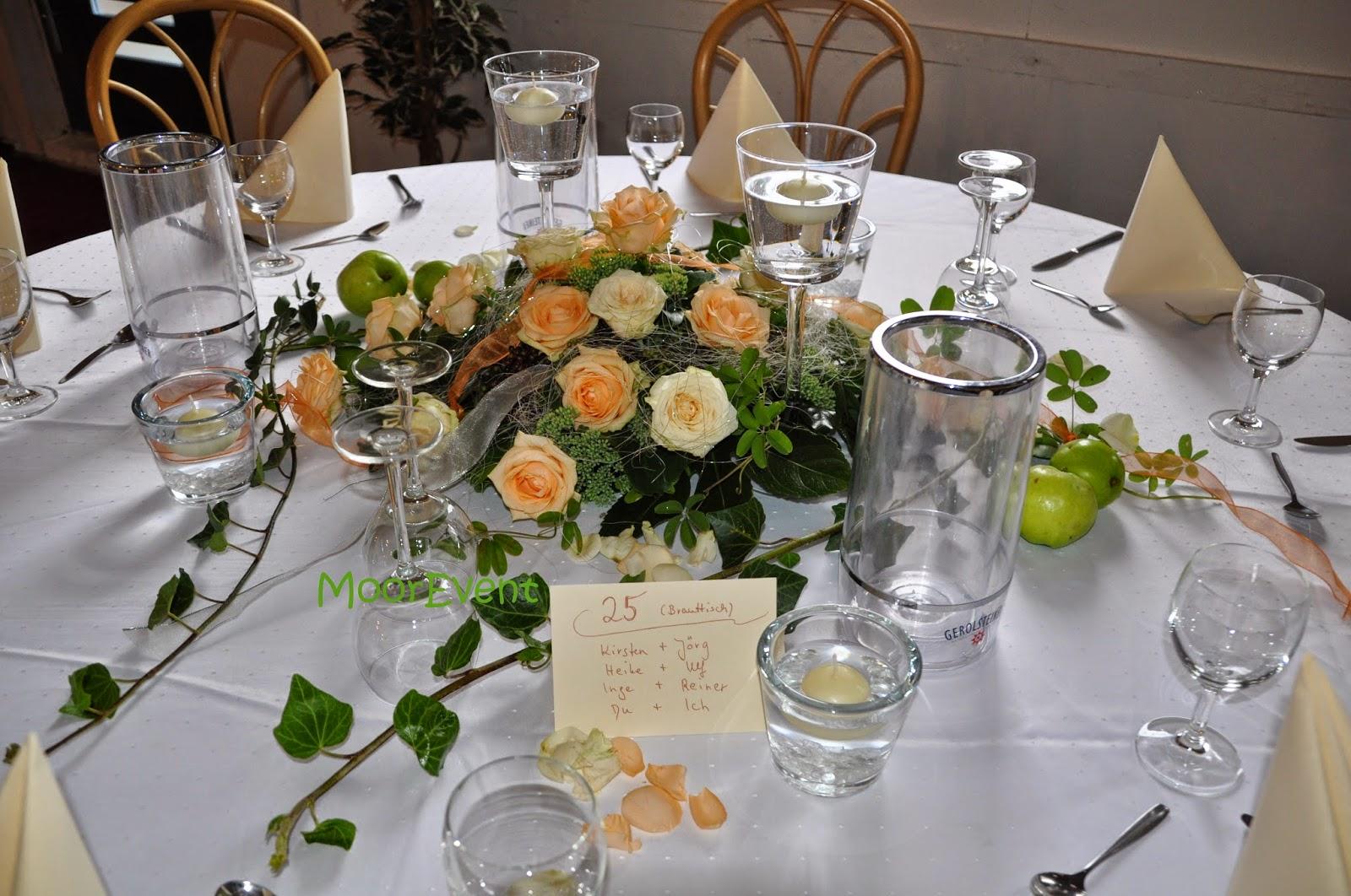 Tischdeko Hochzeit Apricot die 25 besten ideen zu orange