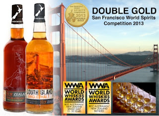 New Zealand Whisky wins awards in San Francisco and London