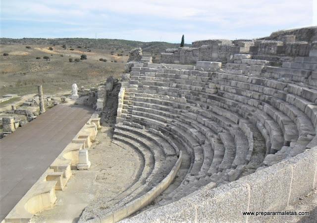 visitar las ruinas romanas Segóbrica Cuenca
