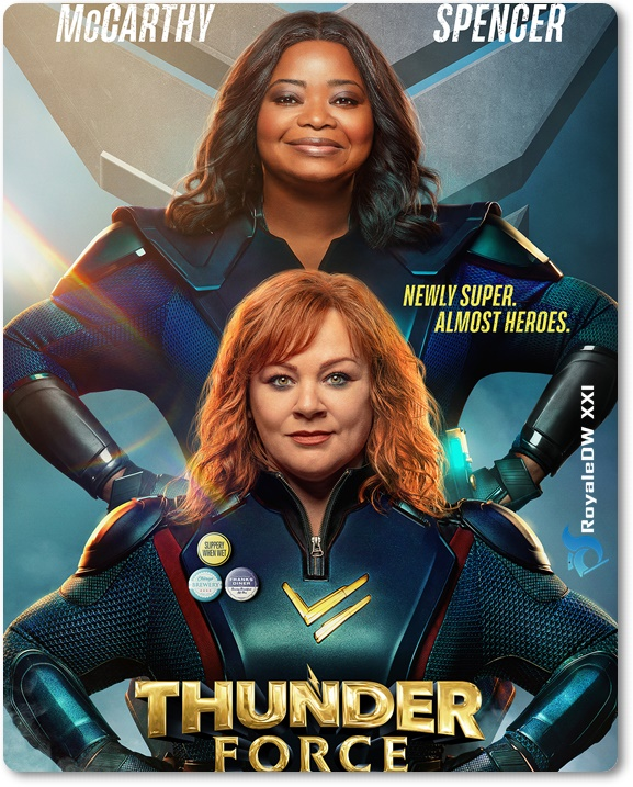 THUNDER FORCE (2021)