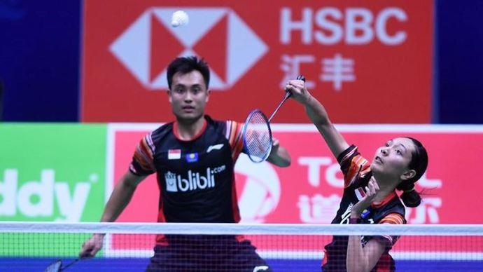Hafiz Faizal Gloria Emanuelle Widjaja Thailand Open