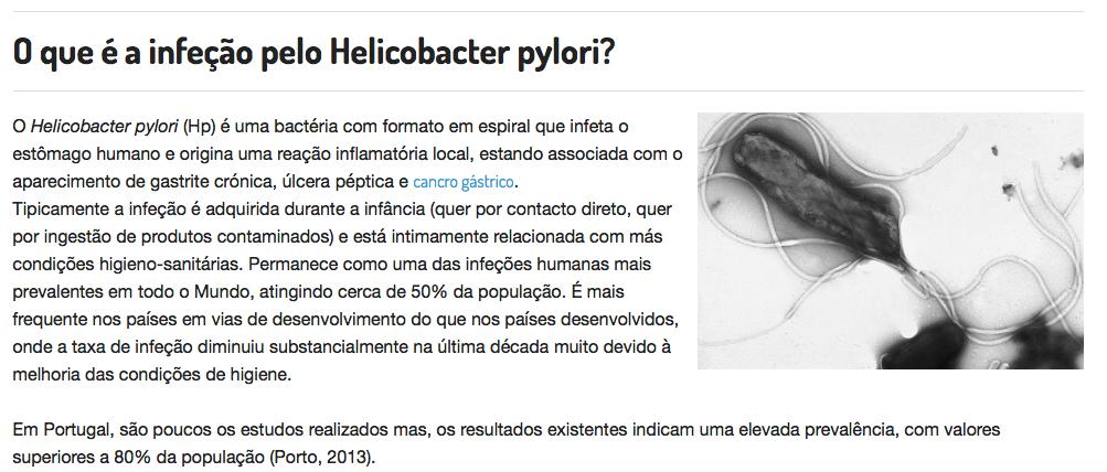 Exame h pylori