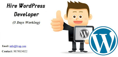 Wordpress Developer (5 Days Working)