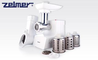 Maszynka do mielenia mięsa z szatkownicą ZMM0554W Zelmer