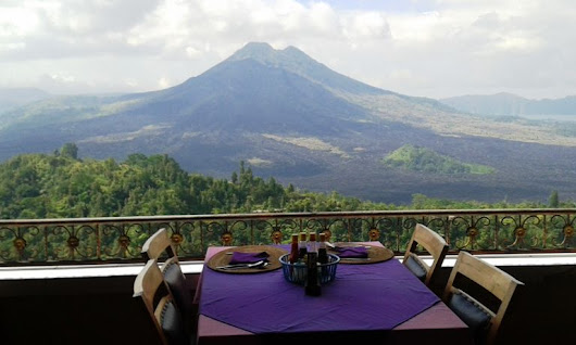 Easy way how to exploring Bali in itinerary 1-day tour Kintamani volcano