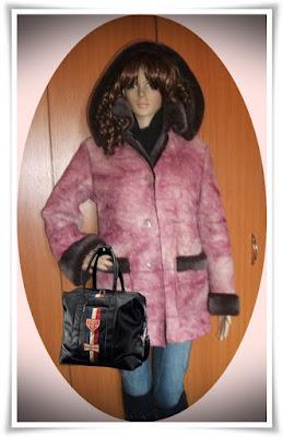 Jacheta de iarna, foarte calduroasa, impecabila!