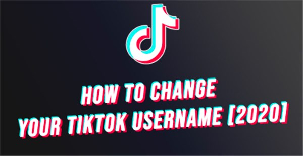 how to change tiktok username