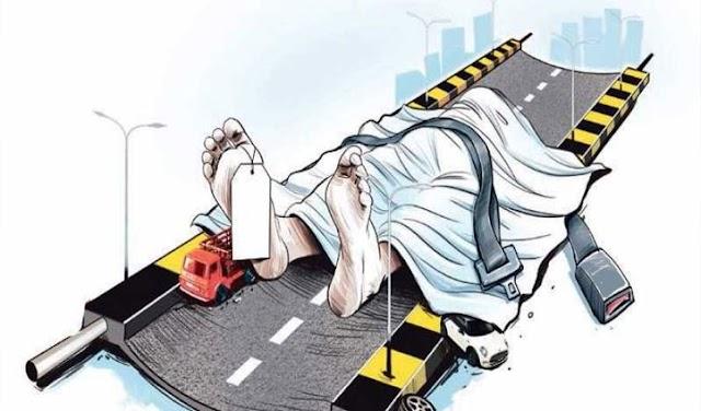 सोलन: ट्रक ने बाइक सवार को मारी टक्कर, दोनों टांगे के बीच रेलिंग लगने से मौके पर मौत