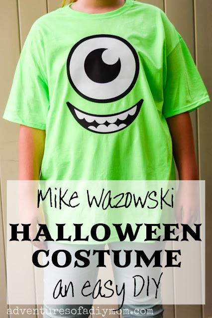 Mike wazowski t-shirt costume