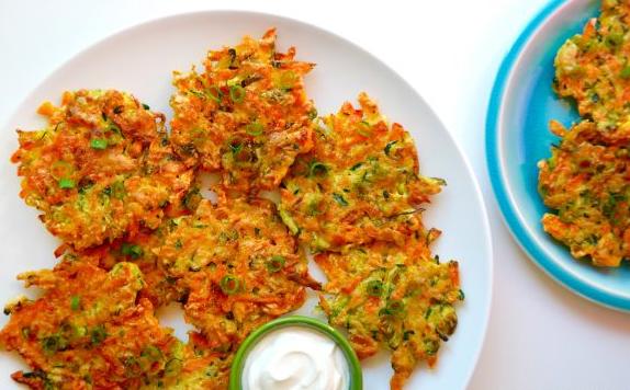 Quick and Crispy Vegetable Fritters #crispy #vegetable #easy #healthydinner #food