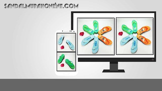 Sandal Wedges Pres Jely - Sandal Murah Online  0858 6085 4424