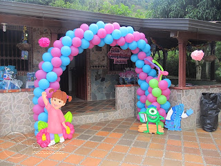 DECORACION MONSTER INC - UNIVERSITY MEDELLIN