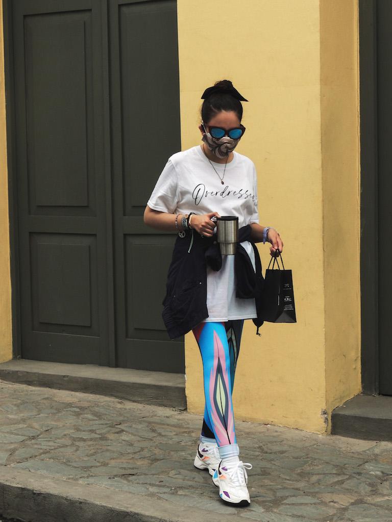 historia de los leggings