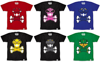 Power Rangers x Johnny Cupcakes T-Shirt Collection