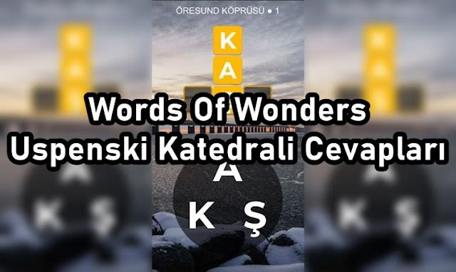 Words Of Wonders Uspenski Katedrali Cevaplari