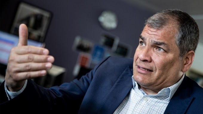 """Rafael Correa: """"La CNN está construyendo el 'show' para que extraditen a Assange"""""""