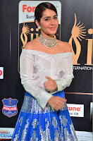 Raashi Khanna in Off Shoulder Top and Blue Skirt Cuteness Overloaded at IIFA Utsavam Awards 2017  HD Exclusive Pics 03.JPG