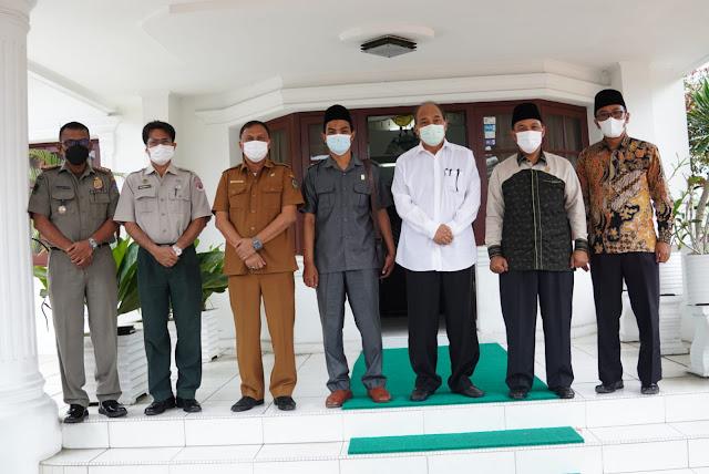 Walikota Tebingtinggi Bersama Anggota DPRD Sumut H.Hanafi.LC Bahas PTM dan Pembangunan Jalan Tol