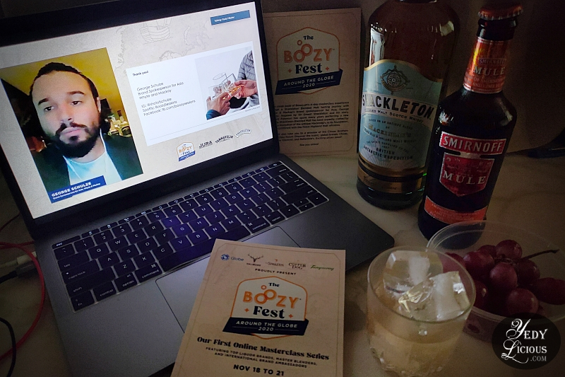 Boozy.PH Online Liquor Delivery Service The Boozy Fest: Around The Globe Online Masterclass Series YedyLicious Manila Food Blog