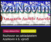 Rozhovor se zakladatelem AzaNovin k 6. výročí