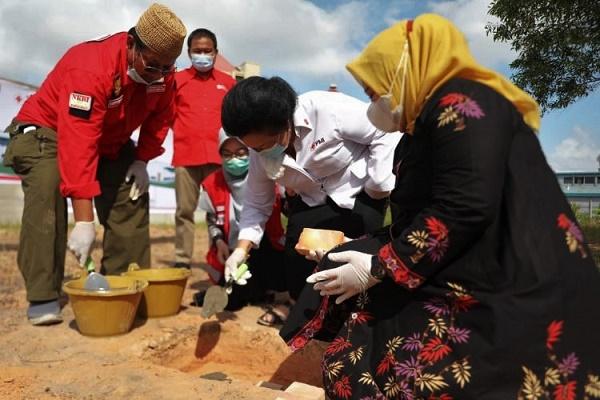 Pembangunan Gudang PMI Kepri, Pusat Logistik Wilayah Sumatera