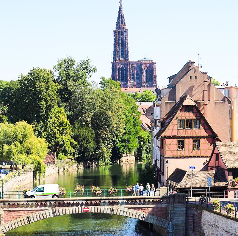 Strasbourg vue dubarrage Vauban