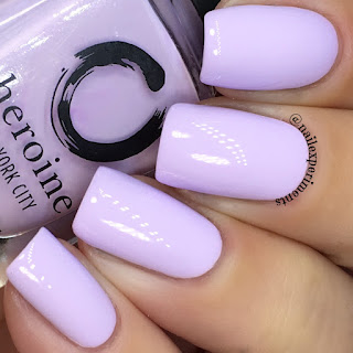 Heroine NYC Lilac It swatch