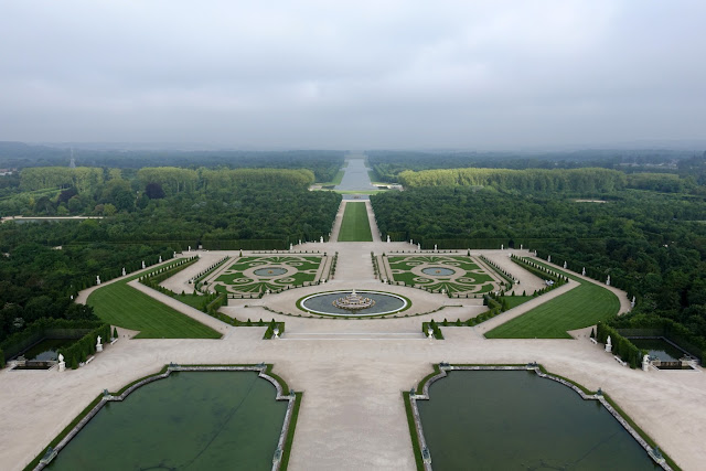 Tour of Versailles Gardens Sun King Garden
