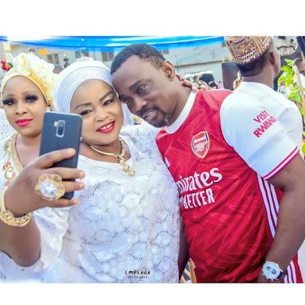 Ogogo, Yetunde Wunmi, Other Nollywood Stars Storms MC Oluomo Deputy's Hotel Grand Opening. (Photos)