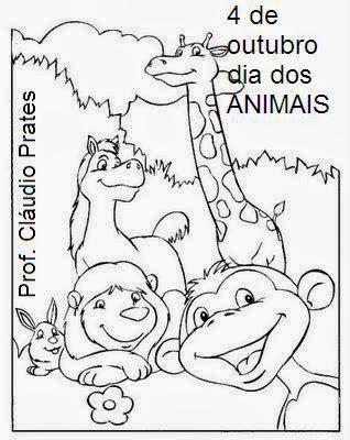 Educacao Infantil Atividades Dia Mundial Dos Animais