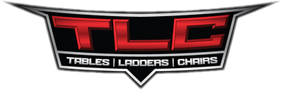 logo for WWE pay-per-view event Tables Ladders and Chairs TLC